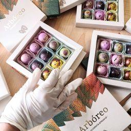 Arbóreo Chocolates Flores Detalles