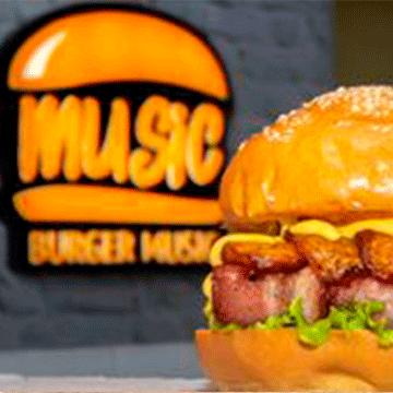 Logo Burger Music