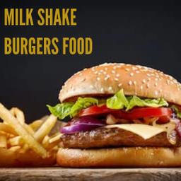 Milk Shake Burgers Food