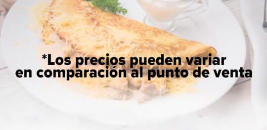 Logo Crepes & Waffles Heladería - Andino