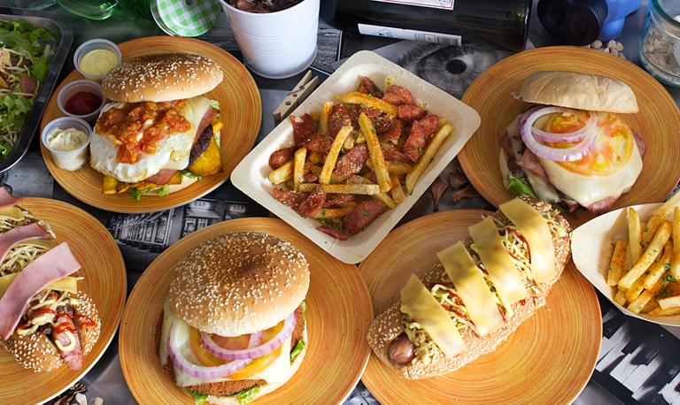 Logo  The Burger Five