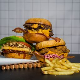 Flip burgers