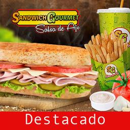 Sandwich Gourmet Salsa de Ajo