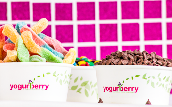 Logo Yogurberry - Heladeria