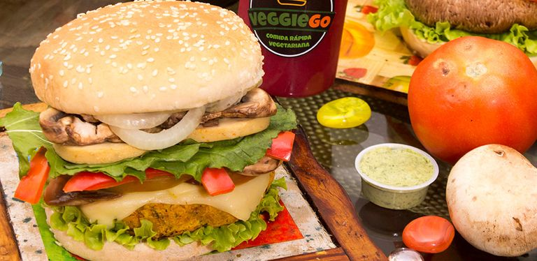 Logo Veggie Go - Saludable