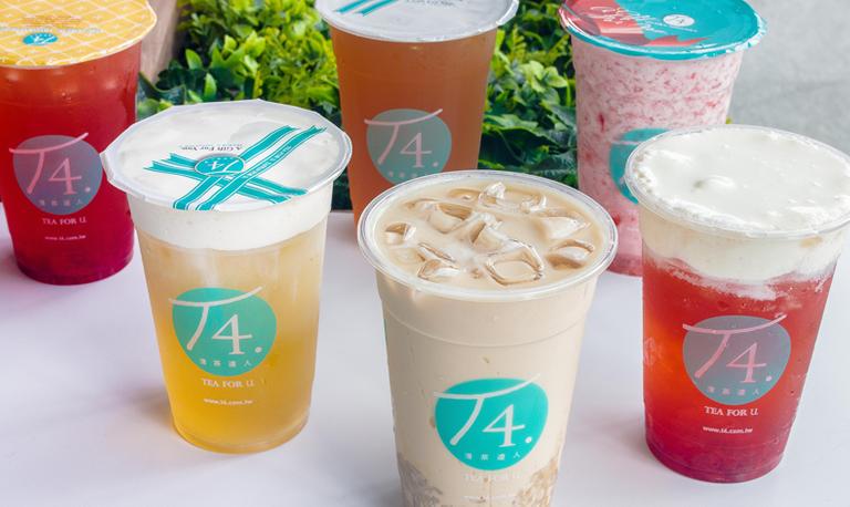 Logo T4 - Bebidas a base de Té