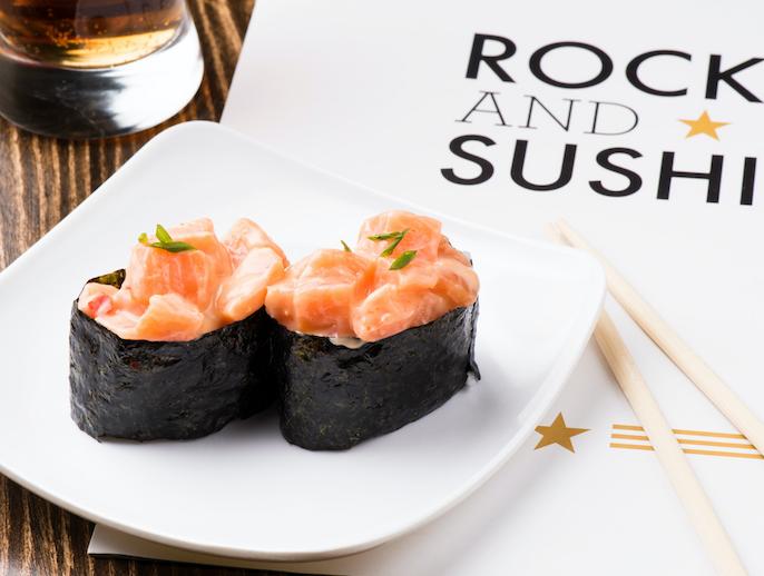 Logo Rock And Sushi