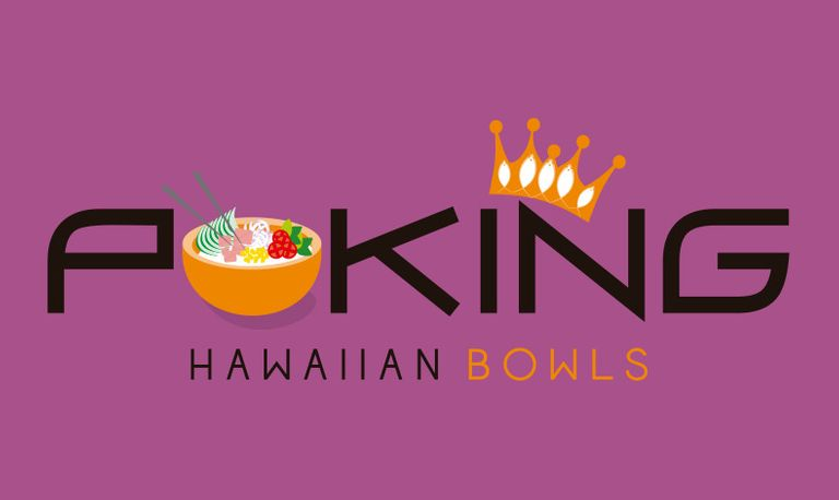 Logo Poking Hawaiian Bowls