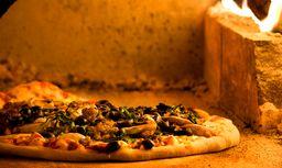 Pizza en Leña