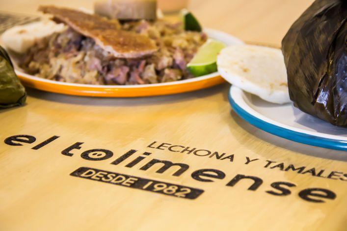 Logo Lechona y Tamales el Tolimense