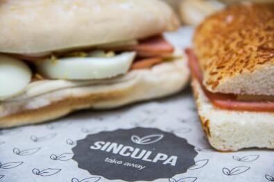 Logo Sin Culpa - Sandwich