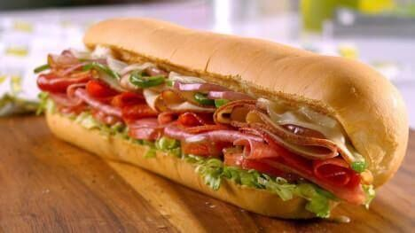 Logo Subway - Sándwiches