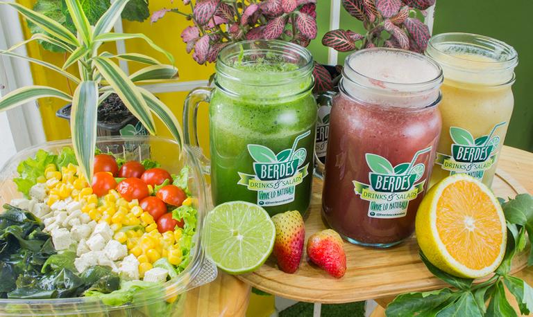 Logo Berdes Drinks & Salads