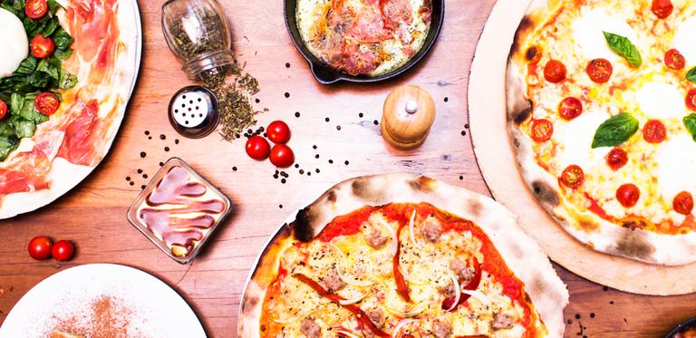 Logo Tomy Tomato - Pizza