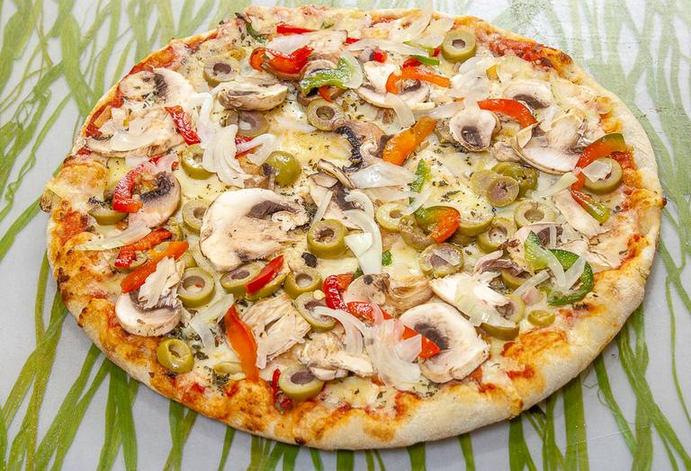 Logo La Mona Pizza