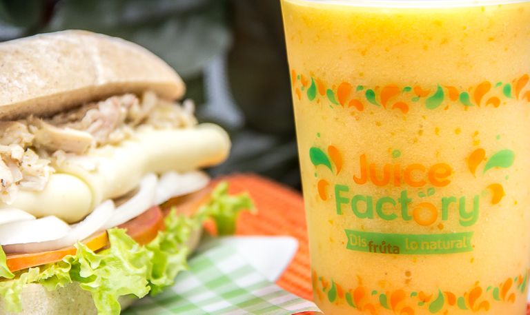 Logo Juice Factory