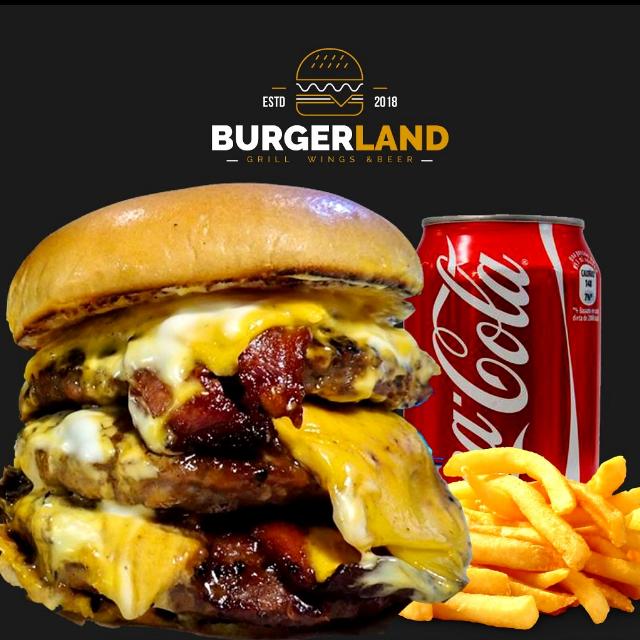 Logo Burgerland.co
