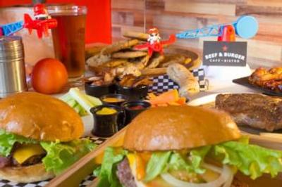 Logo Beef and burger