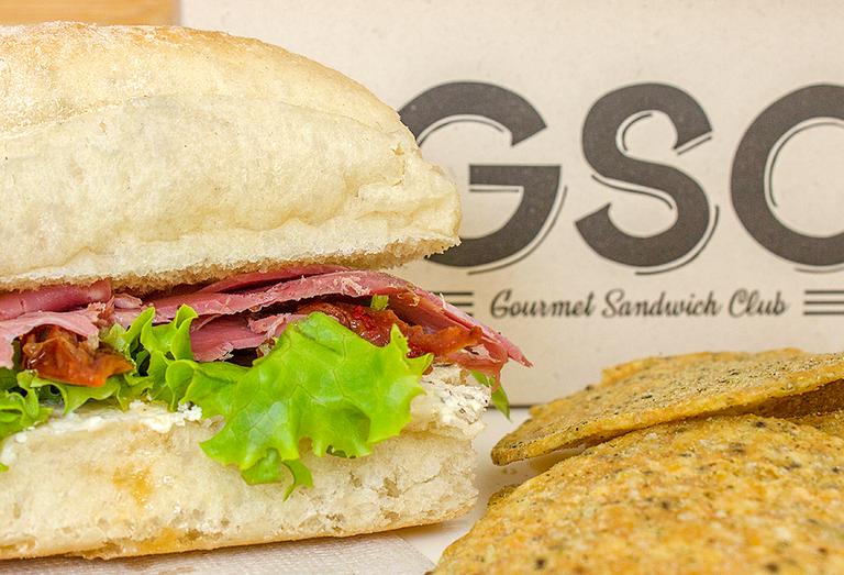 Logo GSC - Gourmet Sándwich Club