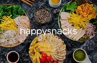 Logo Happy Snacks Saludable