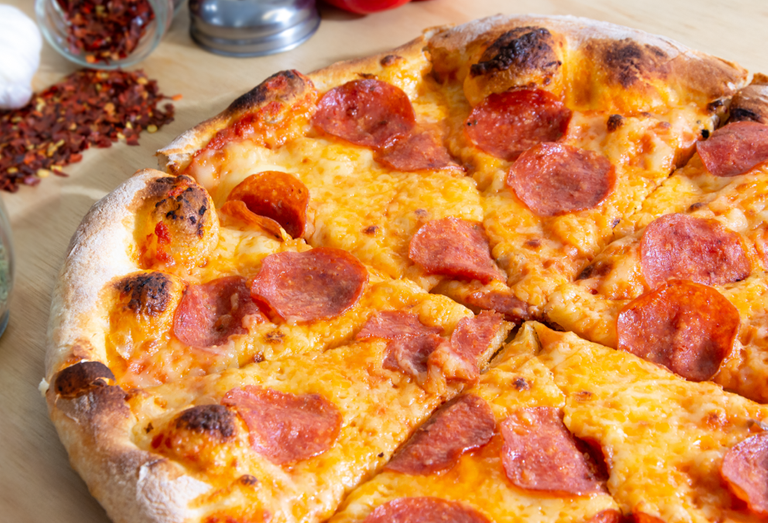 Logo Pizza Paraiso