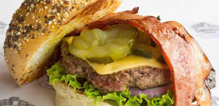 Logo Downtown Burger