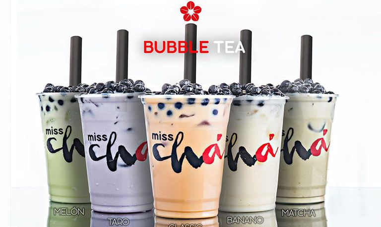 Logo Miss Chá- Bubble Tea