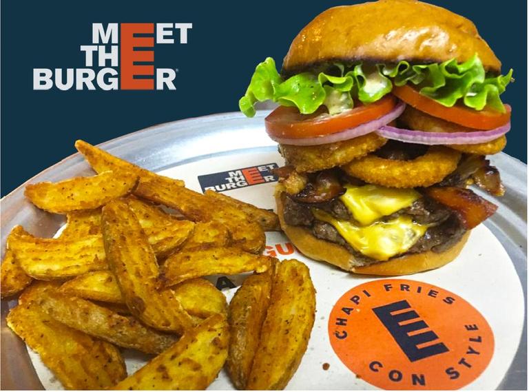 Logo Meet The Burger
