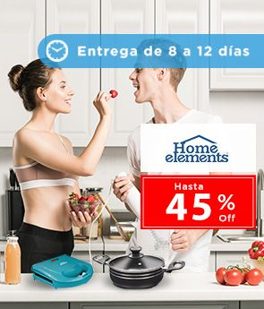 Logo Home Elements equipa tu cocina