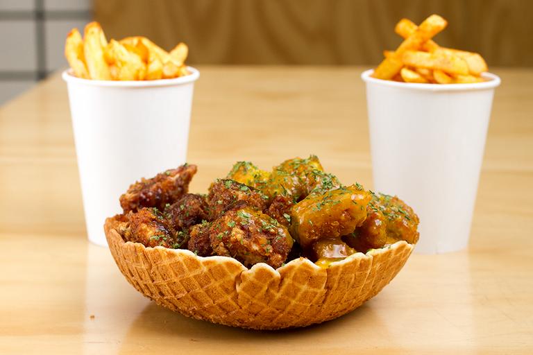 Logo Crunchy Cone - Pollo