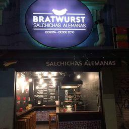 Bratwurst salchichas alemanas
