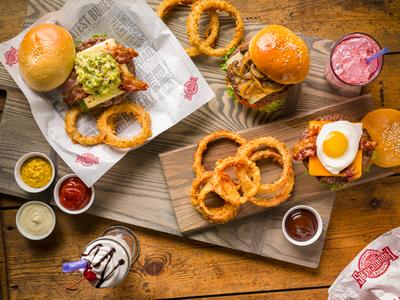 Logo Fuddruckers - Burgers