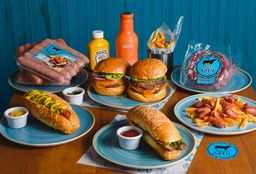 Angus Azul Burger