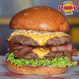 Burger Pop Container
