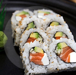 On Sushi.