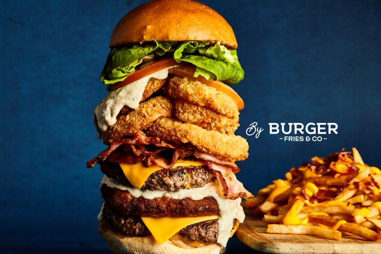 Logo Burger Fries & Co