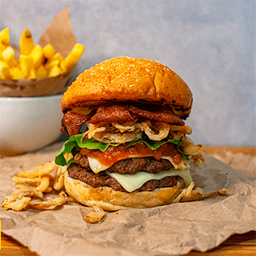 Sbs Smashed Burger Sándwich