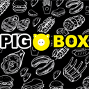 Pig box background