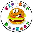 Vic-car Burguer background