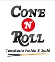 Cone N' Roll - Sushi background