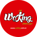 Wok - King background