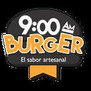 9 AM Burger background
