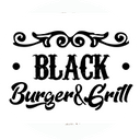 Black Burger background