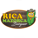 Rica Mazorca Burguer background