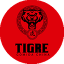 Tigre Comida China background