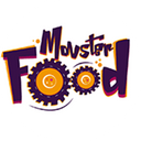 Monster food background