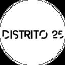 Pizza Distrito 25 background