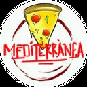Pizza Mediterranea background