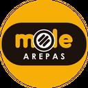 Mole Arepas  background