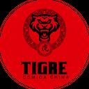 Tigre Comida China background